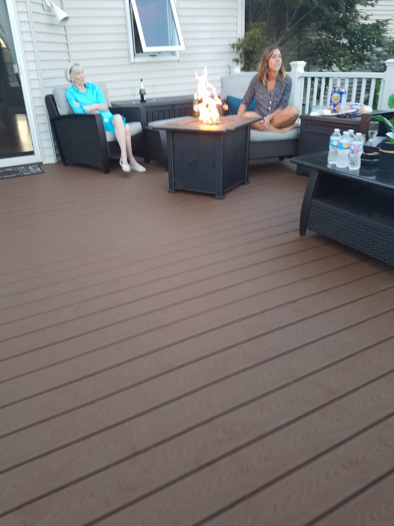 deck renovation after