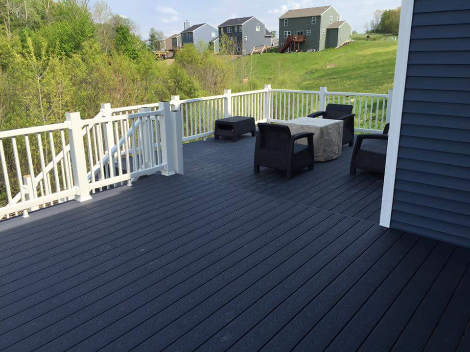 large deck replacement