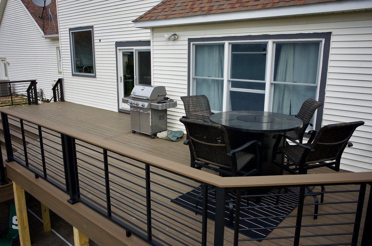 byron center, mi deck renovation