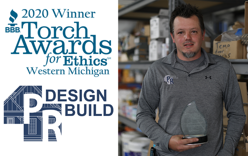PR Design Build - 2020 BBB Torch Award for Ethics