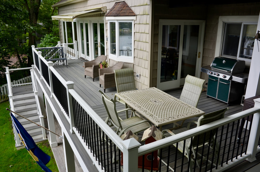 saugatuck trex deck replacement